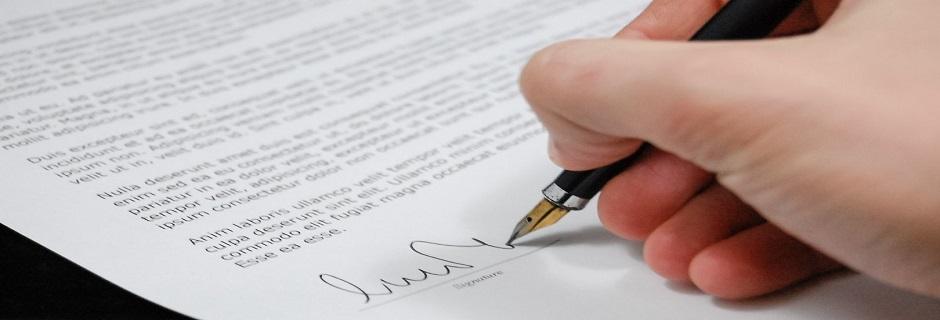 sign pen